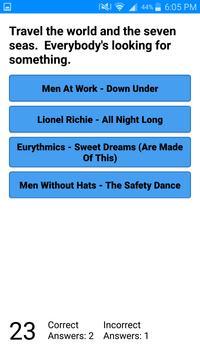 Song Lyrics Trivia screenshot 2