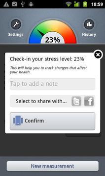 Stress Check by Azumio screenshot 2