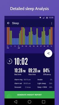 睡眠時間 : 睡眠サイクルスマートアラームクロック、監視分析 スクリーンショット 1