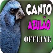 CANTO DO PÁSSARO AZULÃO icon