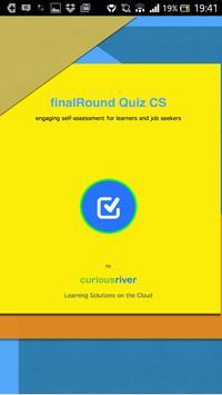 finalRound Quiz CS poster
