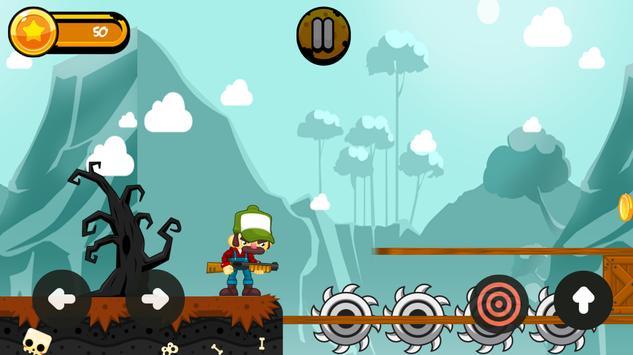 † Halloween Epic Zombie Farmer Shoot apk screenshot