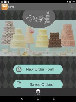 A Little Cake App poster