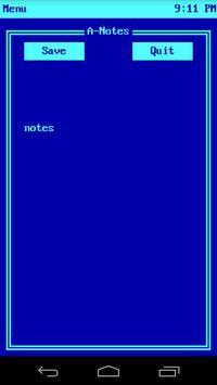 A-Notes screenshot 1