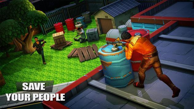 Fort night Shooting Frontline Battle Ground Arena screenshot 5