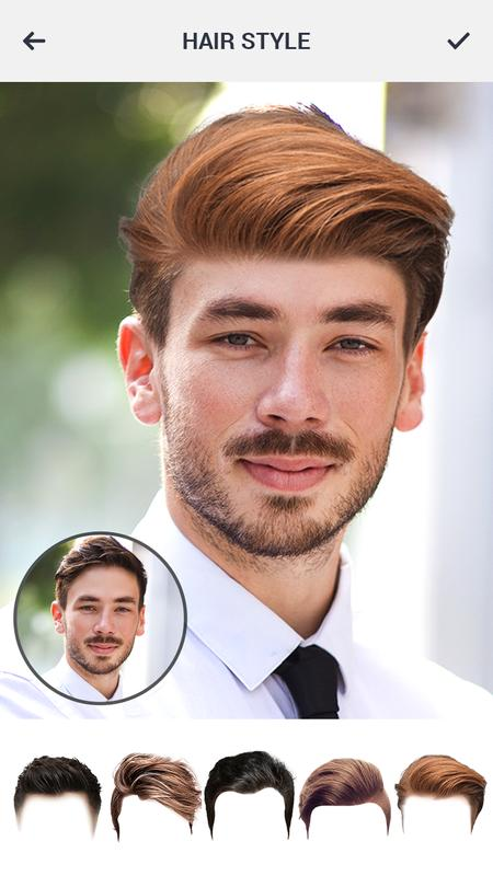 Man Hairstyle Changer Saloon Hairstyle Photos For Android Apk