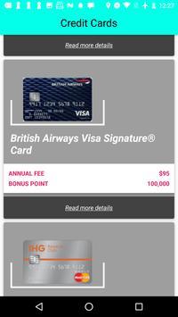 Credit Card Bonus screenshot 3