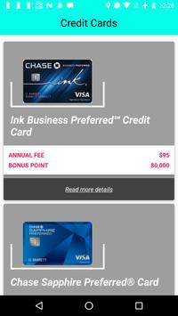 Credit Card Bonus poster
