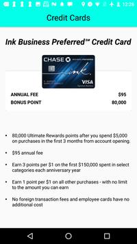 Credit Card Bonus apk screenshot
