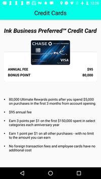 Credit Card Bonus screenshot 1