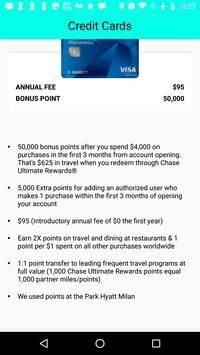 Credit Card Bonus screenshot 2