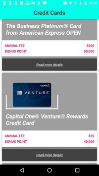 Credit Card Bonus screenshot 6