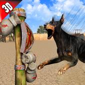 Dog Kung fu Training Simulator: Karate Dog Fighter icon