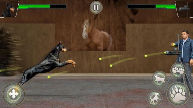 Dog Kung fu Training Simulator: Karate Dog Fighter screenshot 1
