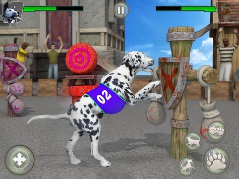 Dog Kung fu Training Simulator: Karate Dog Fighter screenshot 8