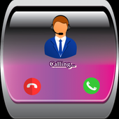 Star call popular fake icon