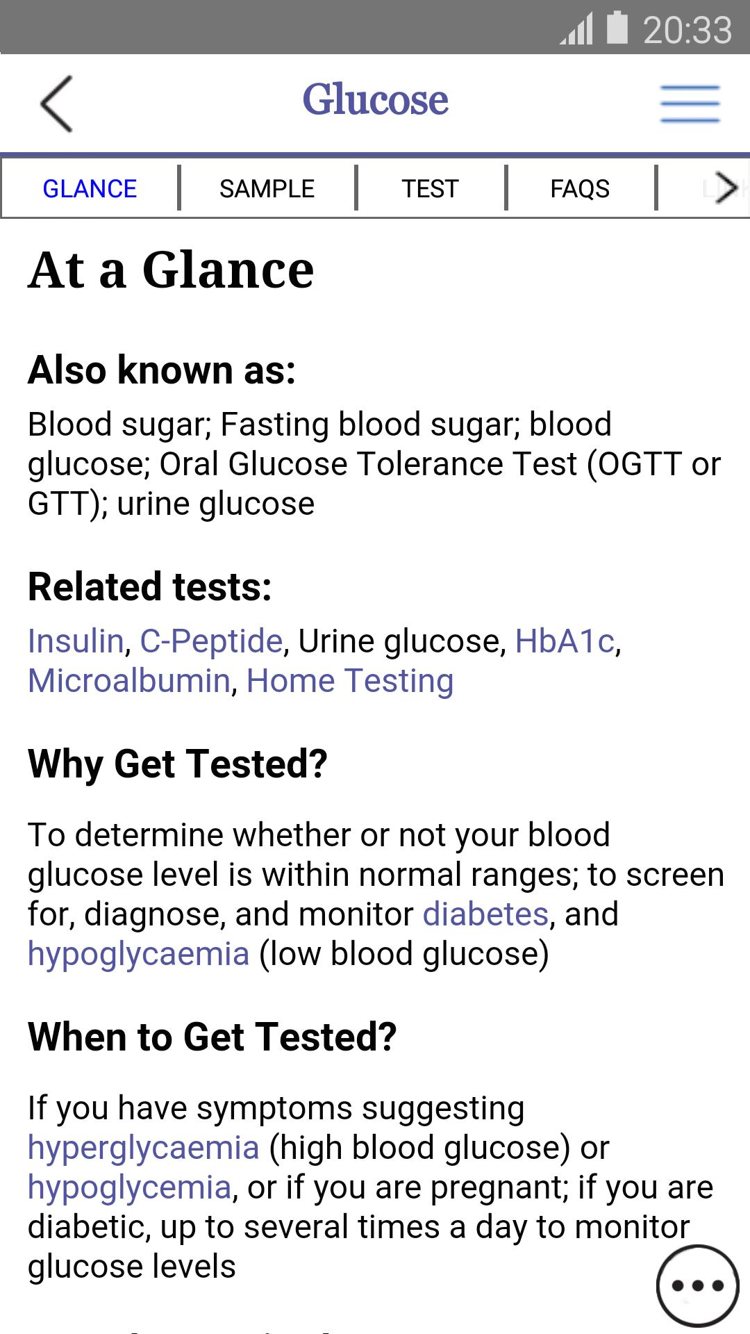 Lab Tests Online-UK for Android - APK Download