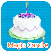 Magical Candle for Happy Bday icon