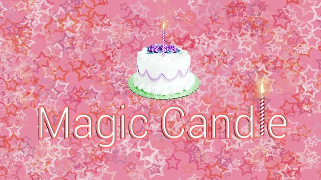 Magical Candle for Happy Bday poster