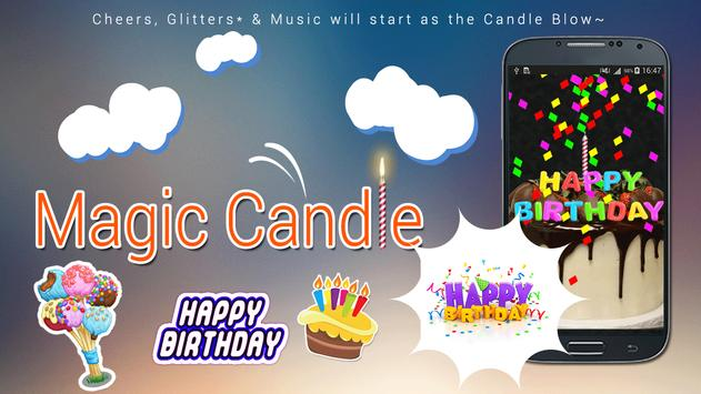 Magical Candle for Happy Bday screenshot 2