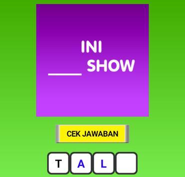Kuis Tebak TV Indonesia screenshot 1