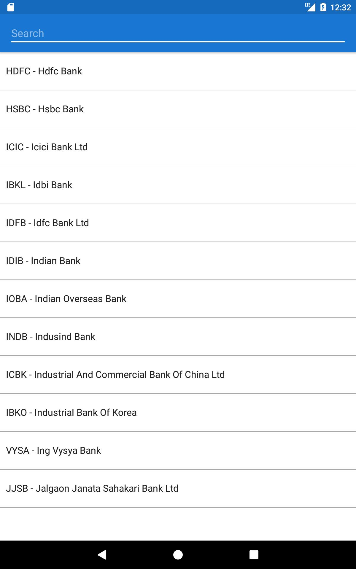 India Bank IFSC Code Finder for Android - APK Download