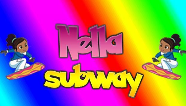 Nellla Subway Princess poster