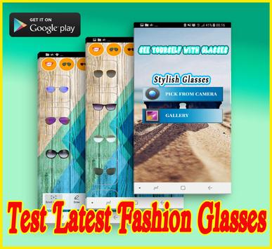 Fashion Glasses Try-On Tool poster