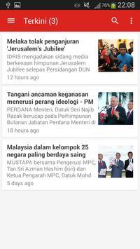 Berita Harian apk screenshot