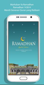 Ramadhan Schedule 1438 H poster