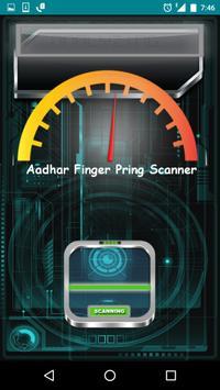 Aadhar finger print scan prank screenshot 3
