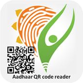Aadhar QR Code Reader icon