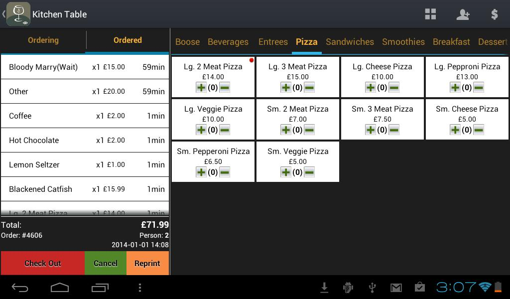 W&O Restaurant POS for Android - APK Download