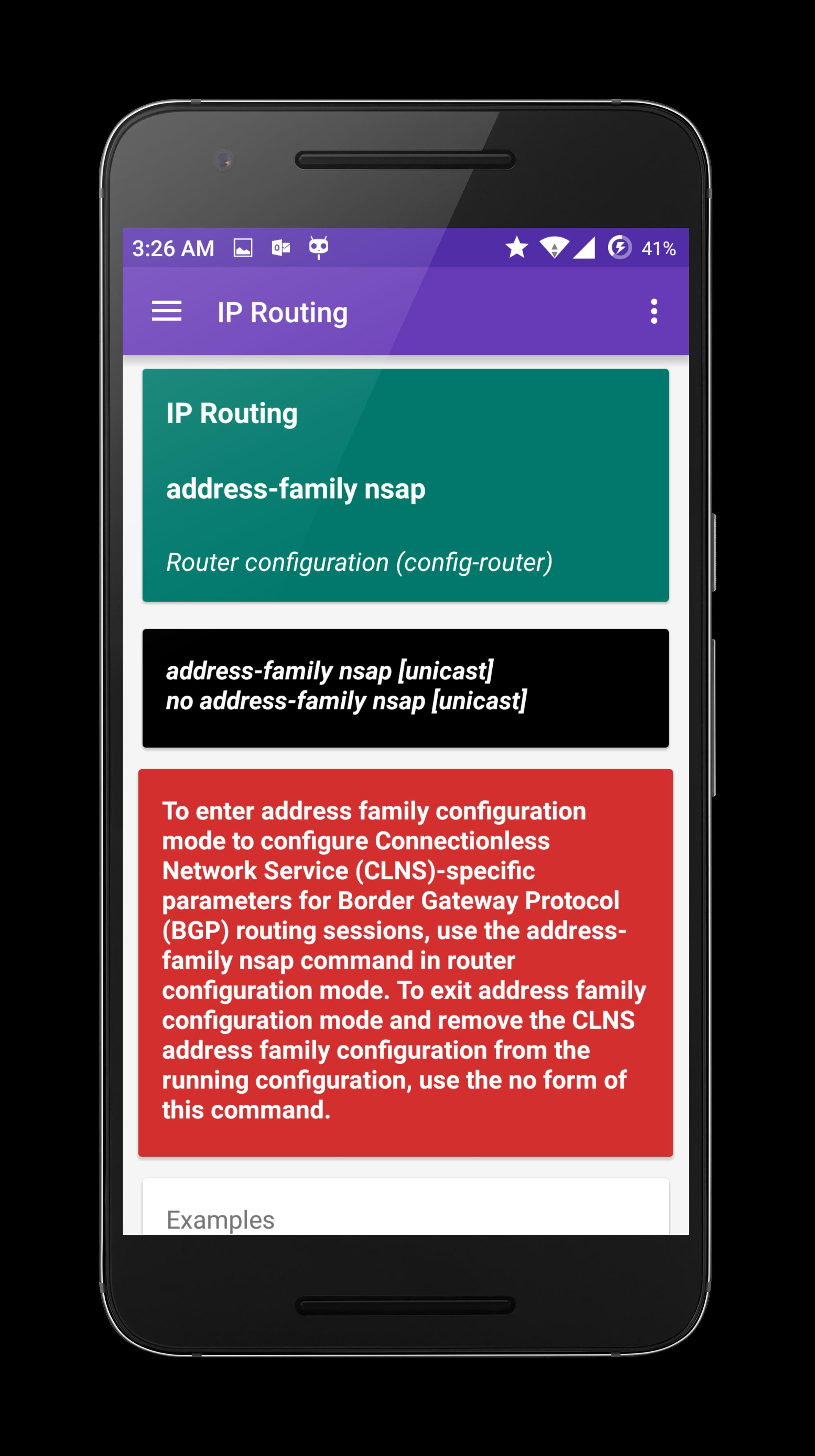Command Reference for Android - APK Download