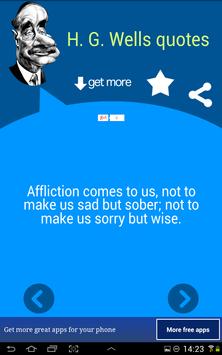H. G. Wells Quotes screenshot 1