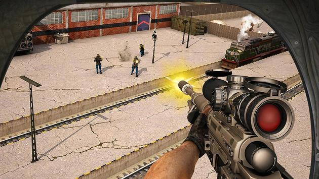Train Escape Sniper Shooter 3D screenshot 13