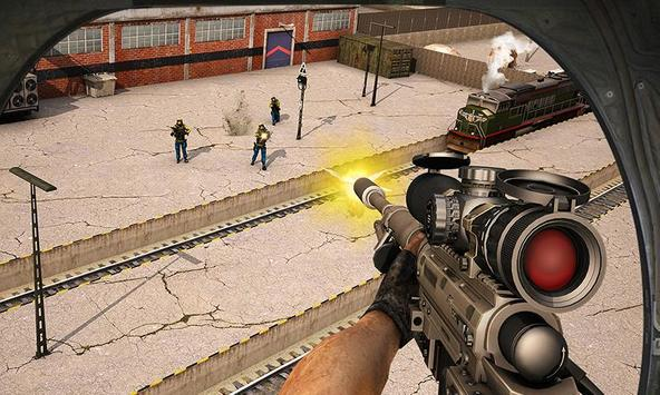 Train Escape Sniper Shooter 3D screenshot 3