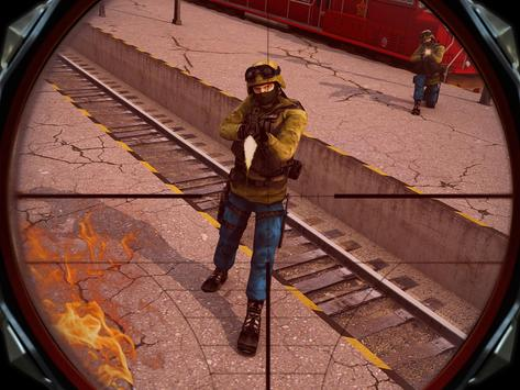Train Escape Sniper Shooter 3D apk screenshot