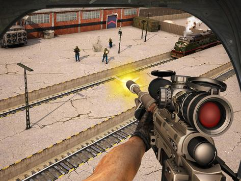 Train Escape Sniper Shooter 3D screenshot 8