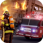 Fire Brigade Rescue Simulator icon