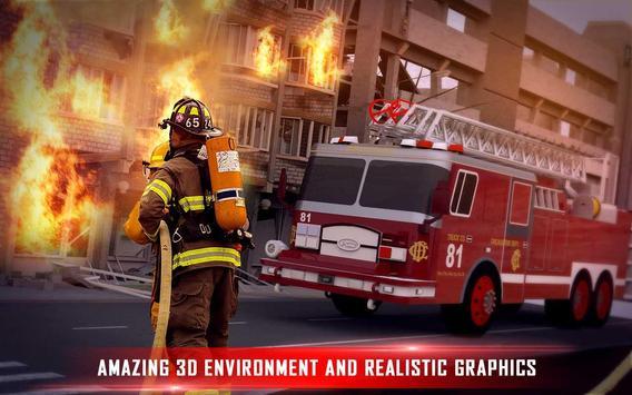 Fire Brigade Rescue Simulator poster