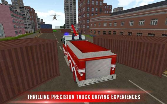 Fire Brigade Rescue Simulator screenshot 1