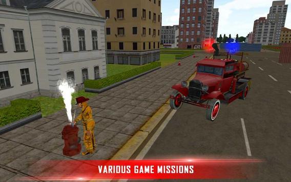 Fire Brigade Rescue Simulator screenshot 2