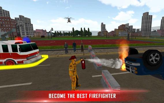 Fire Brigade Rescue Simulator apk screenshot