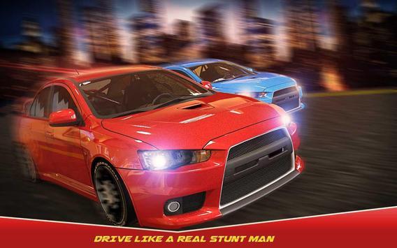 Luxury Car Furious Stuntman poster
