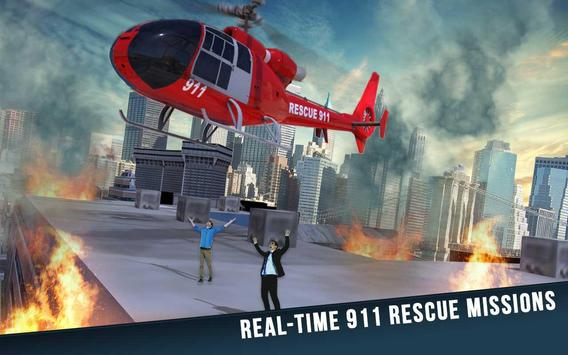 Super Helicopter Rescue 911 poster