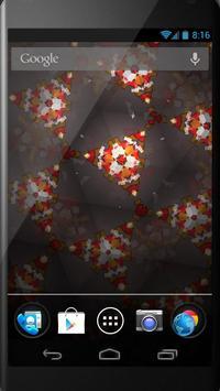 Kaleidoscope LiveWallpaperFree screenshot 1