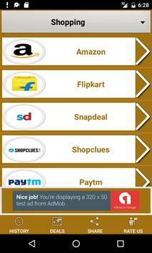 Shopping Hub India : All in One Online Shopping Ap poster