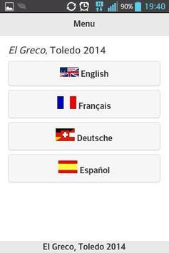 El Greco - Toledo 2014 poster