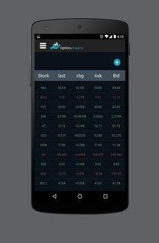 OptionsExperts (Unreleased) apk screenshot